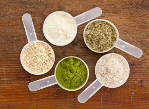 Whey Protein and Plant Protein in Cups - Osage Food Products