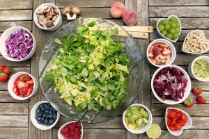 Functional Foods Around a Bowl of Lettuce - Osage Food Products