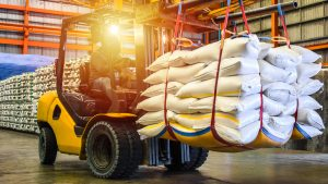 Food Supply Chain Moving Food With A Forklift - Osage Food Products